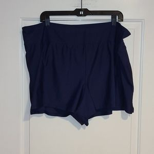 Size 24/26 NWT Navy blue swim bottoms